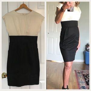Shoshanna Silk Combo Dress ($300)   Size 2